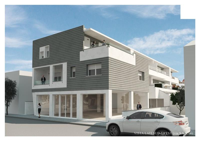 Appartamento con due camere e due bagni in piccolo condominio in fase di costruzione – R45
