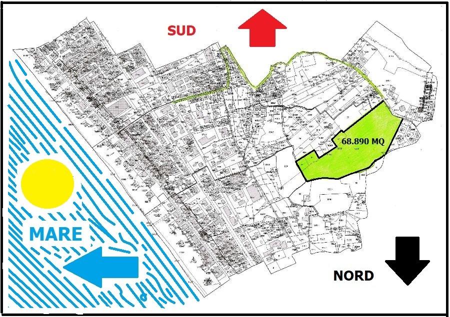 Terreno edificabile vista mare a Silvi, Contrada San Silvestro – P11