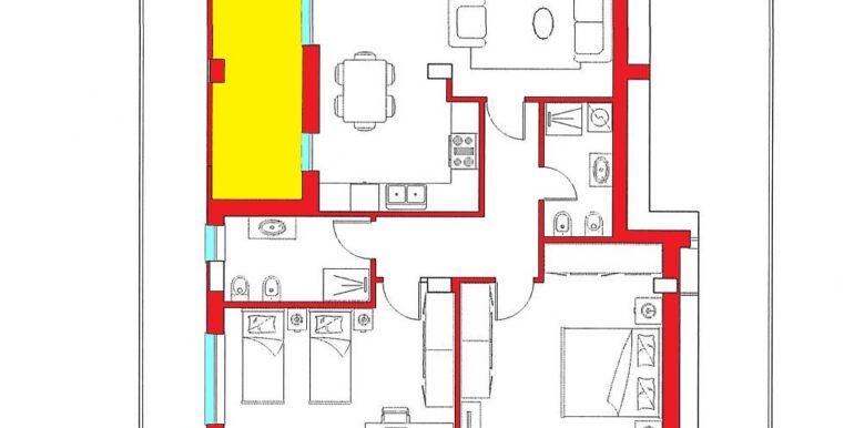Int. 1 piano primo_due camere